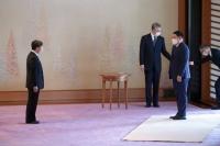 Ерөнхий сайд Л.Оюун-Эрдэнэ Япон Улсын Цог жавхлант эзэн хаан Нарүхитод  бараалхав