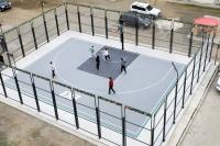 ХААН Банк Төв аймагт 3х3 сагсан бөмбөгийн талбай байгуулж өглөө