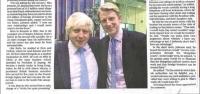 ''Борис Жонсоны дүү Монголын залилангийн бүлэглэлд 14 сая фунт алдлаа'' гэж ''The Times''-т бичжээ