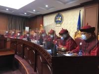 Үндсэн хуулийн цэц Монгол Улсын Ерөнхийлөгчийн хүсэлтийг хэлэлцэв