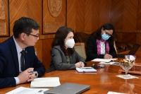 УИХ-ын эмэгтэй гишүүд НҮБ-ын Хөгжлийн хөтөлбөрийн суурин төлөөлөгч Илейн М. Конкиевичийг хүлээн авч уулзлаа